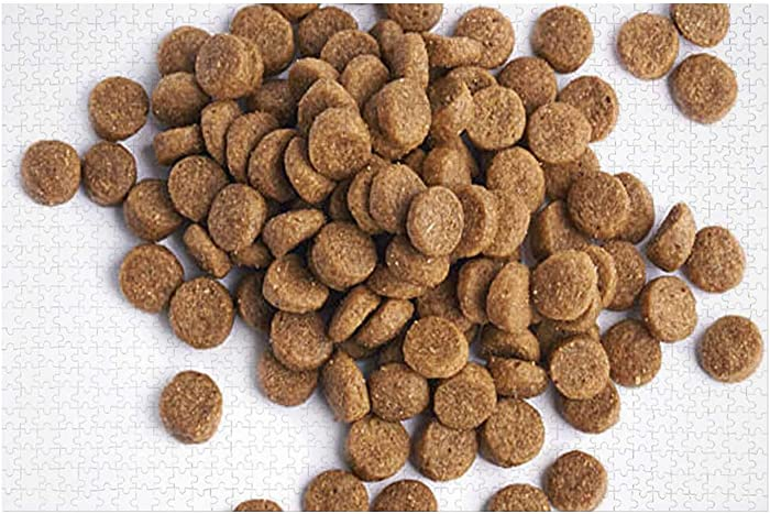 Pile of Dry pet's Food Croquette,Wood Puzzle Children's Multi-Purpose Brain Toy Dog 1000PCS
