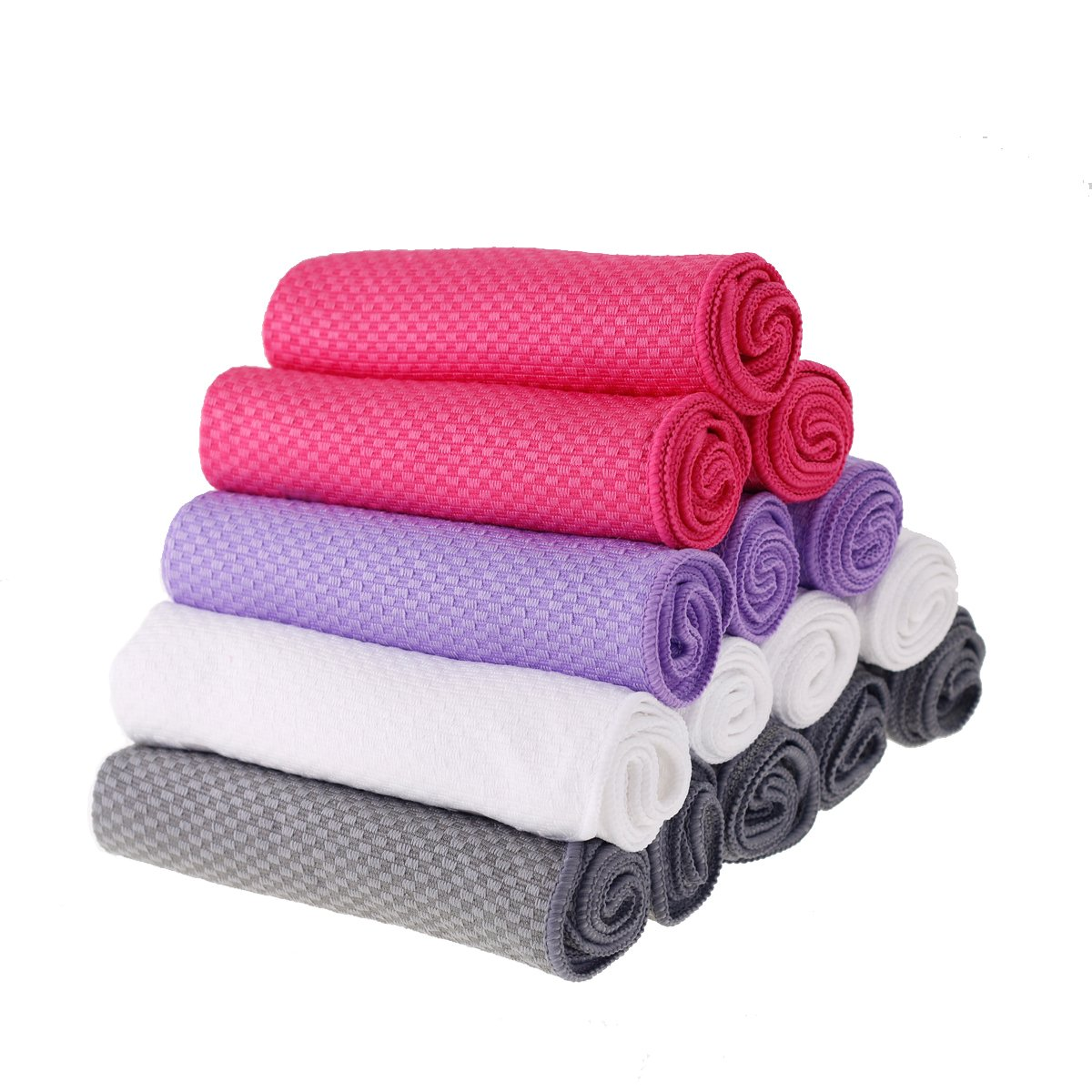 Microfiber Cloth and Car Towel - 12 Pack Polishing Cloths for Shiny Best Kitchen Appliance
