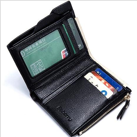 Y-LJ Bag Monederos Hombre pequeño Billetera para Hombres ...