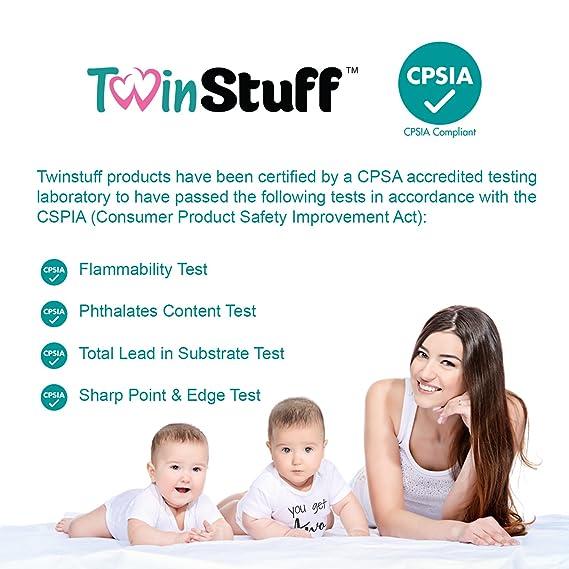 Amazon.com: Twin Onesies Outfits Bebé niñas y niños ...