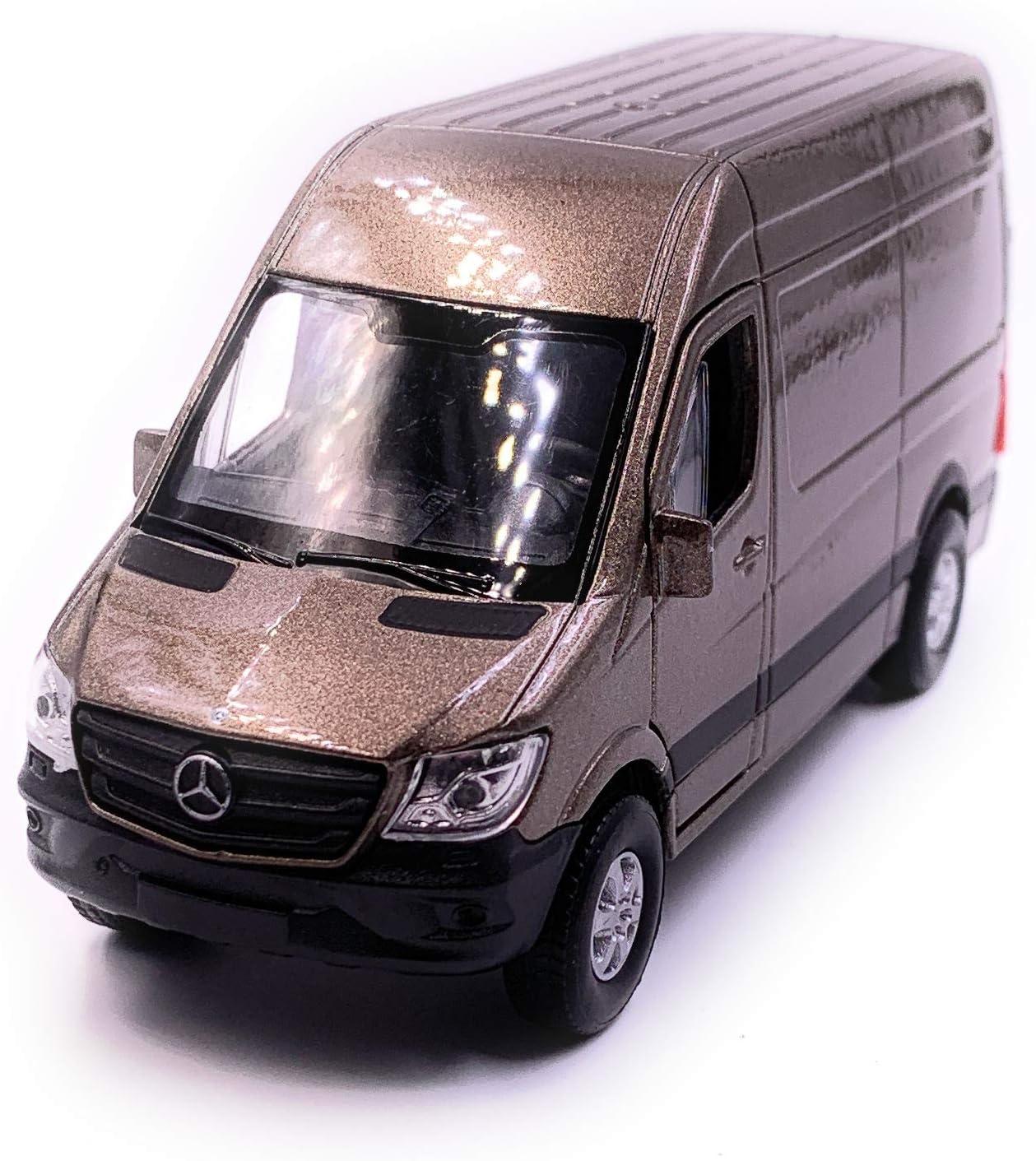 Onlineworld2013 Sprinter Panel Van Gold Modellauto Auto Maßstab 1 34 Lizensiert Auto