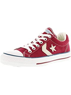 a147411fe2 Amazon.com | Converse Youth Star Player EV Ox Navy White Canvas ...