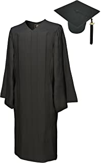 Amazon.com: Shiny Forest Green Graduation Cap and Gown Set in ...