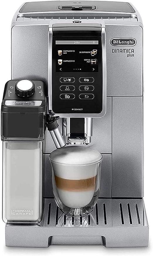 DeLonghi Ecam 370.95.S Independiente - Cafetera (Independiente, Cafetera combinada, Granos de café, Molinillo integrado, 1450 W, Plata): Amazon.es: Hogar