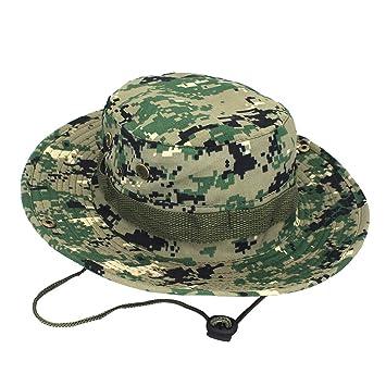 TINGSU Unisexo Sombrero Boonie al Aire Libre Gorra Militar de ...