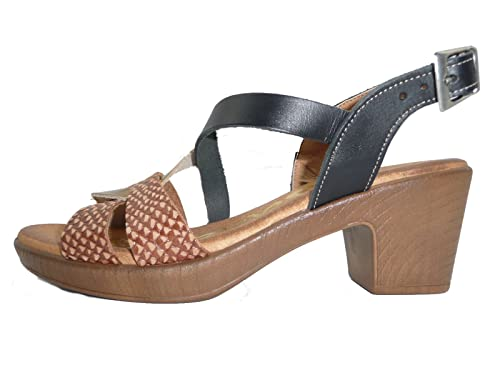 a85e5ca1550 OH MY SANDALS Women's Thong Sandals black Black 2.5 black Size: 4 ...