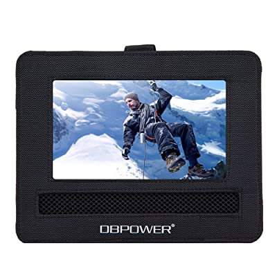 """Car Headrest Mount Holder for DBPOWER 10""""-12"""" Portable DVD Player with Swivel and Flip Screen and Fits Other 10-12"""" Swivel Screen Portable DVD Player - Black: Car Electronics"""