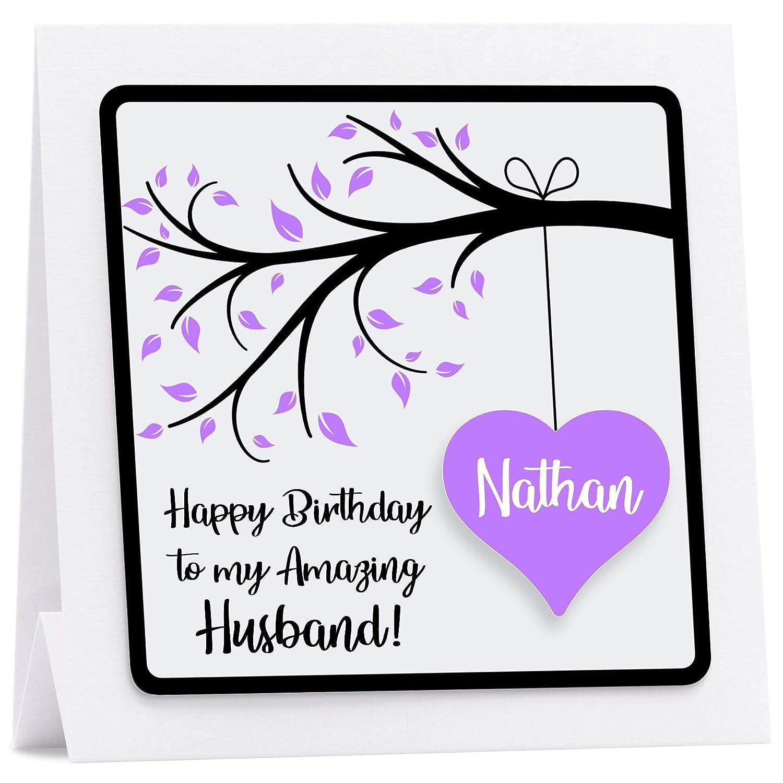 PERSONALISED BIRTHDAY CARD 3D Wife Husband Boyfriend Girlfriend