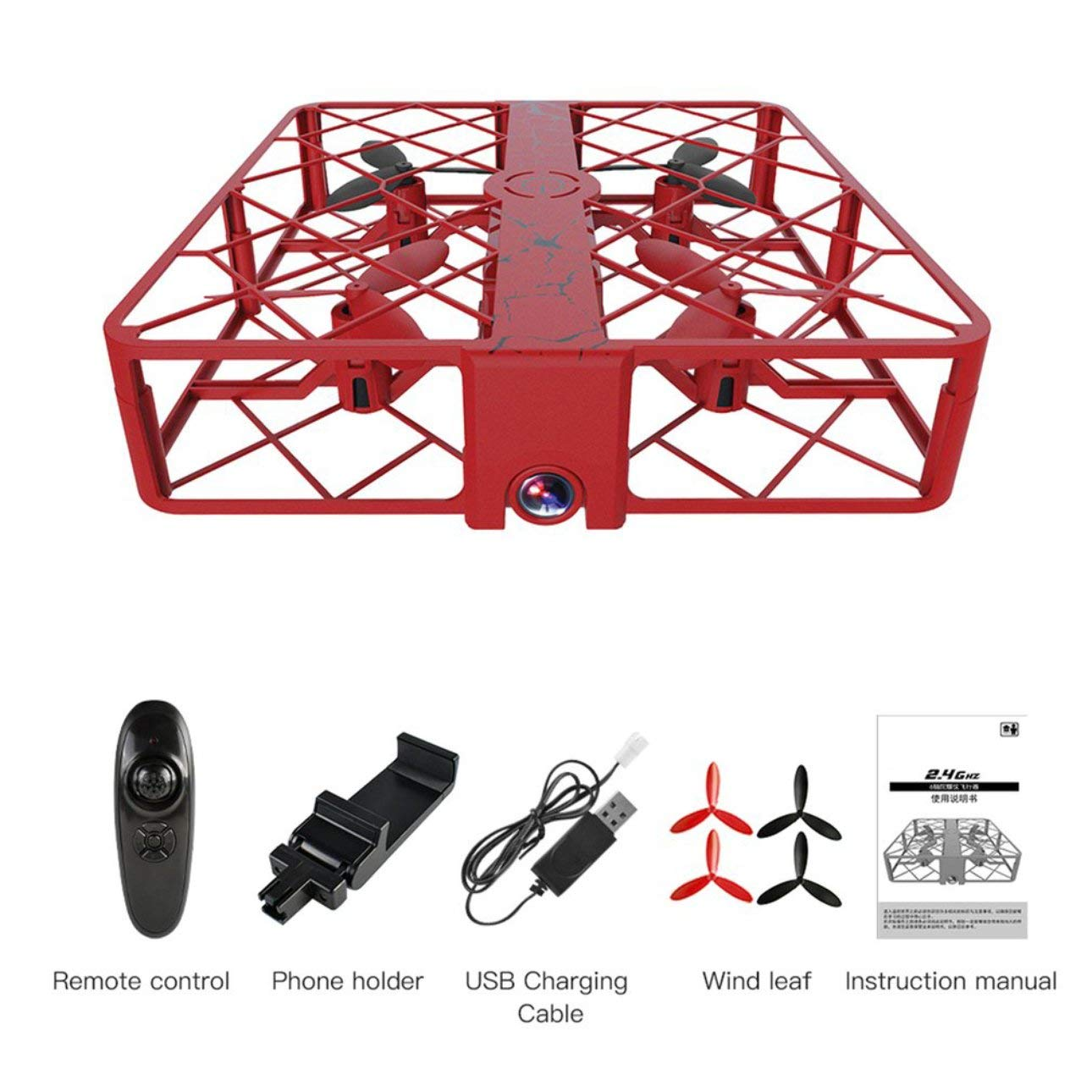 Liobaba SG500 Mini RC Drone WiFi Remote Quadcopter 720P HD Camera 4CH Altitude Hold Headless Mode Helicopter Children