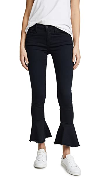 f3dda4b27ebfb FRAME Women s Le Skinny De Jeanne Flounce Jeans With Raw Edge ...