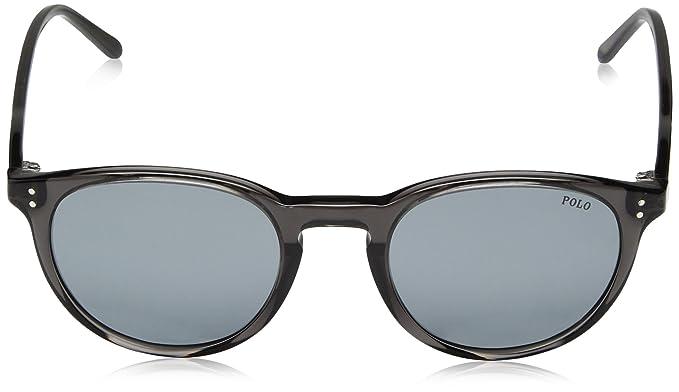 Polo Herren Sonnenbrille » PH4110«, braun, 500772 - braun/blau