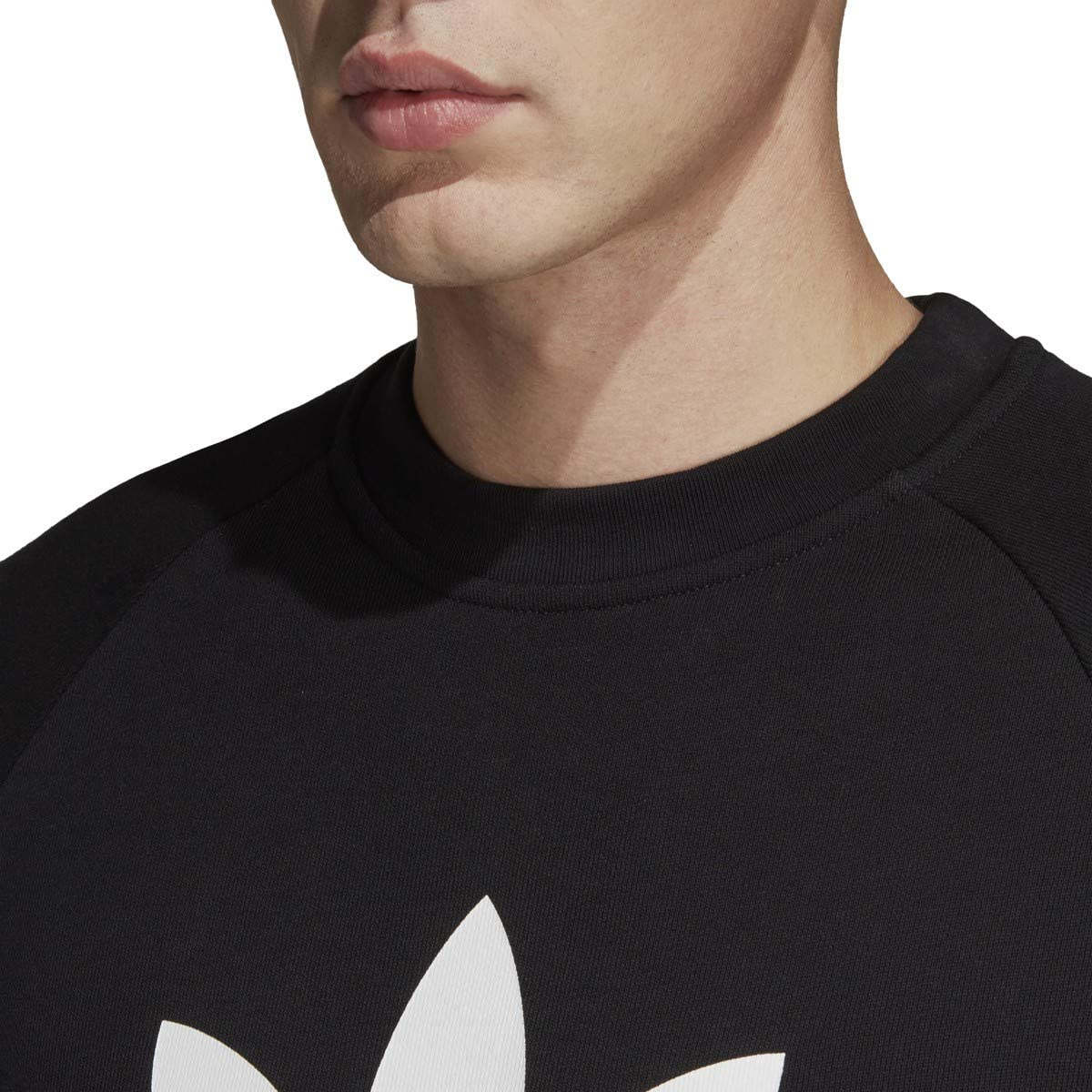 adidas Mens Must Have Badge Of Sport Fleece Crew Sweatshirt