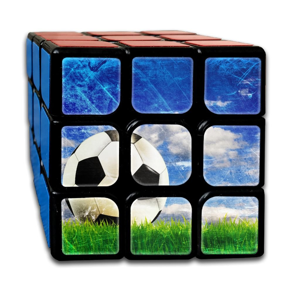 AVABAODAN Football Comic Rubik's Cube 3D Printed 3x3x3 Magic Square Puzzles Game Portable Toys-Anti Stress For Anti-anxiety Adults Kids