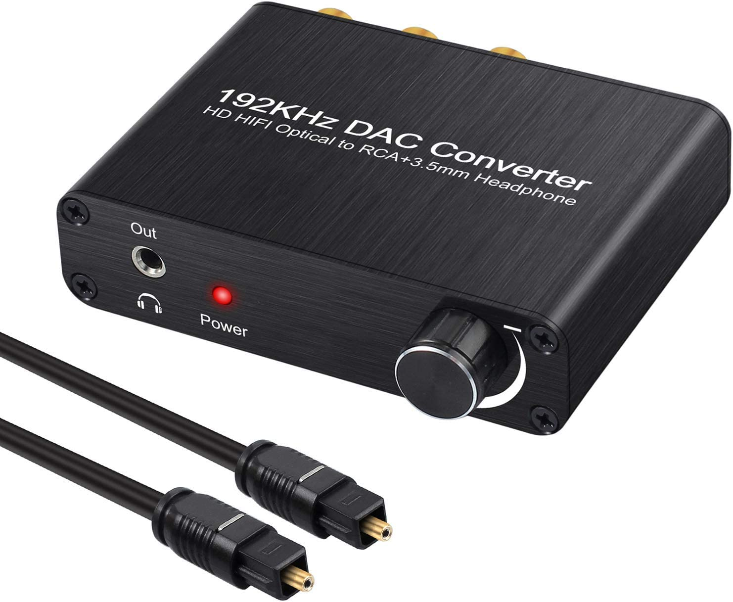 Neoteck 192kHz DAC Converter Optical Splitter 1x4