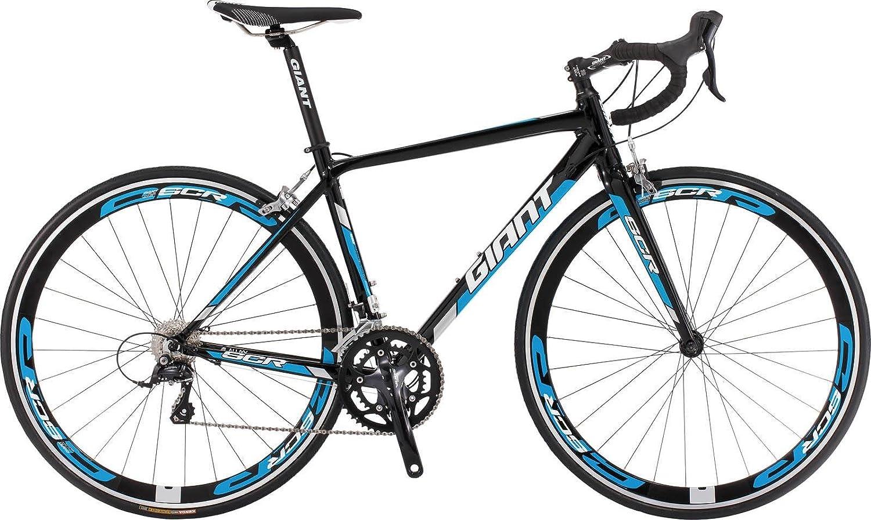 Giant SCR 1ロードバイク自転車61010216 M / L 700 cx535 mmブラック/シアン B071JSSBFR