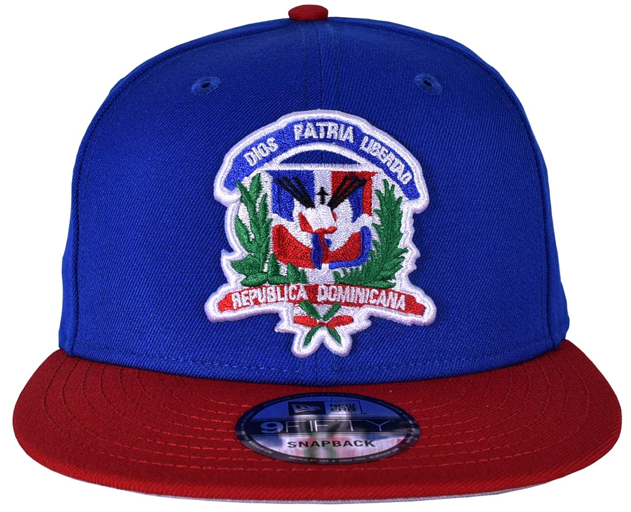 Amazon.com : New Era Republica Dominicana Mens Snapback in Black and Red : Sports & Outdoors