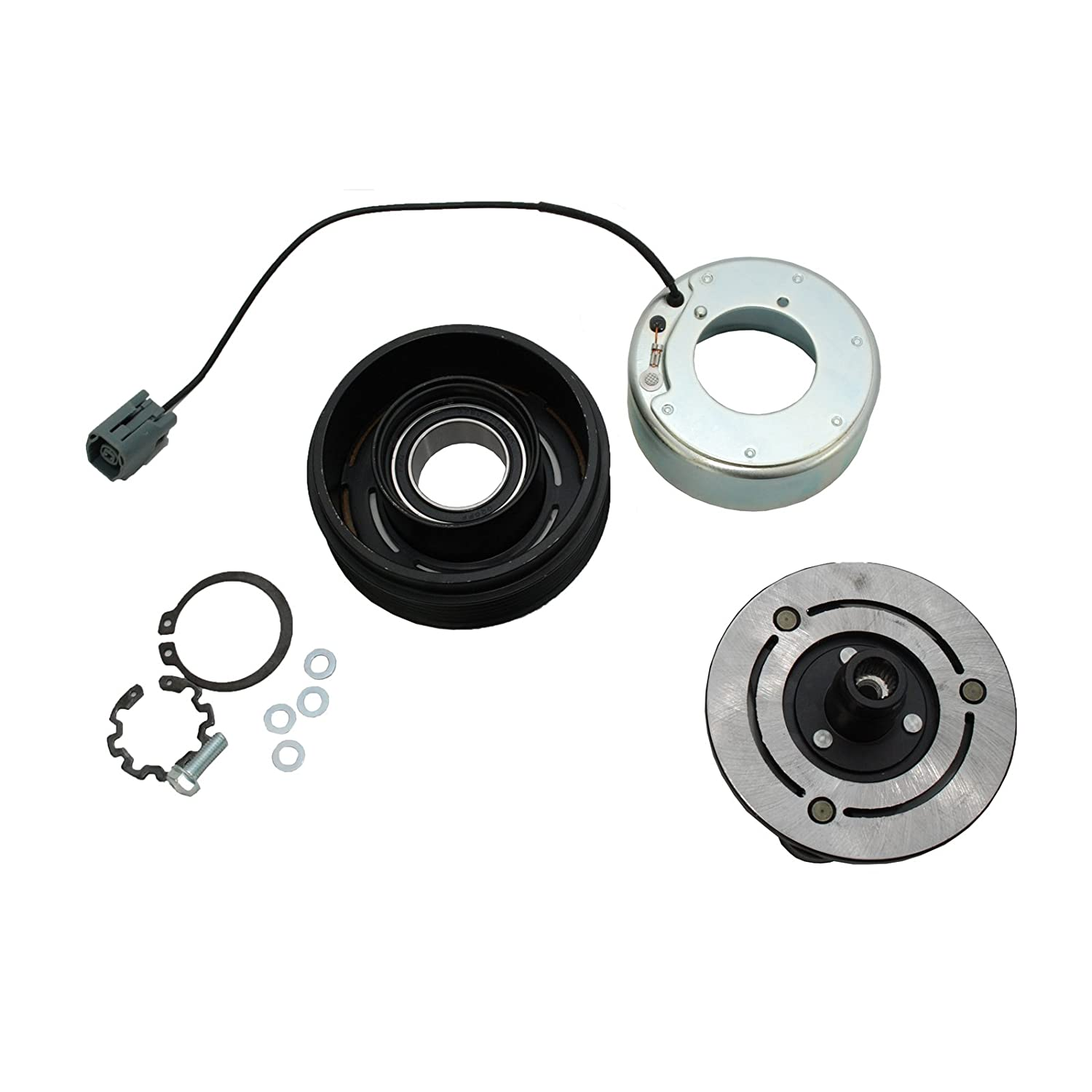 HexAutoparts A/C AC Compressor Clutch Repair Kit for 2007-2009 Mazda 3/2006 Mazda 5/2007-2009 CX-7