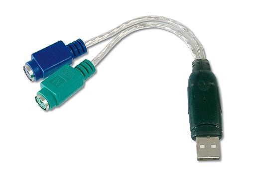 111 opinioni per Digitus DA70118 Adattatore Ps2/USB per Connettere Mouse e Tastiera PS/2 alla
