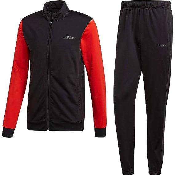 adidas Tiro13 Präsentations Anzug Trainingsanzug Kinder rot schwarz
