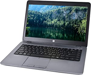HP EliteBook 840 G2, Intel Core i5-5300U up to 2.3 GHz, 8GB RAM, 500 GB SATA Laptop Computer Windows 10 Pro (Renewed)