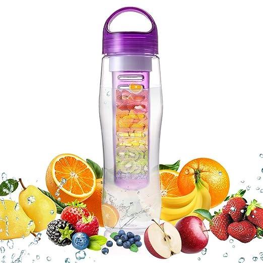 15 opinioni per Bottiglia Infusore Genki 800ml Infusore Bottiglia,Senza BPA,Leak Proof & Facile