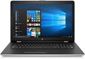 "HP 17.3"" Full HD IPS Notebook, Intel Core i7-7500U Processor, 12GB Memory, 1TB Hard Drive, 2GB Radeon 520 Graphics, HD Webcam, Optical Drive, Backlit Keyboard, Windows 10 Home, Natural Silver"
