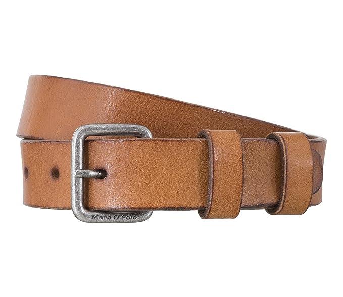 Marc OPolo 630822503108 Cinturón, Cognac 715, 85 para Hombre ...