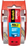 Scotch Heavy Duty Shipping Packaging Tape S8WHR, 1.88 Inches x 800 Inches, 1 Rolls with Dispenser