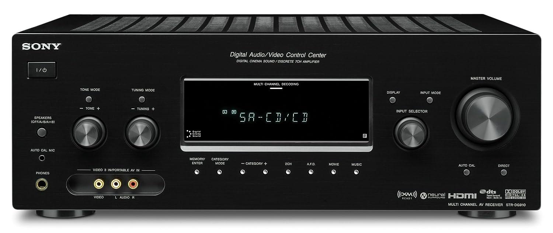 amazon com sony str dg910 7 1 channel home theater receiver rh amazon com Sony 5.1 Receiver Sony Reciver