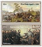 The Civil War: 1865 Souvenir Sheet of 12 USPS Forever Stamps