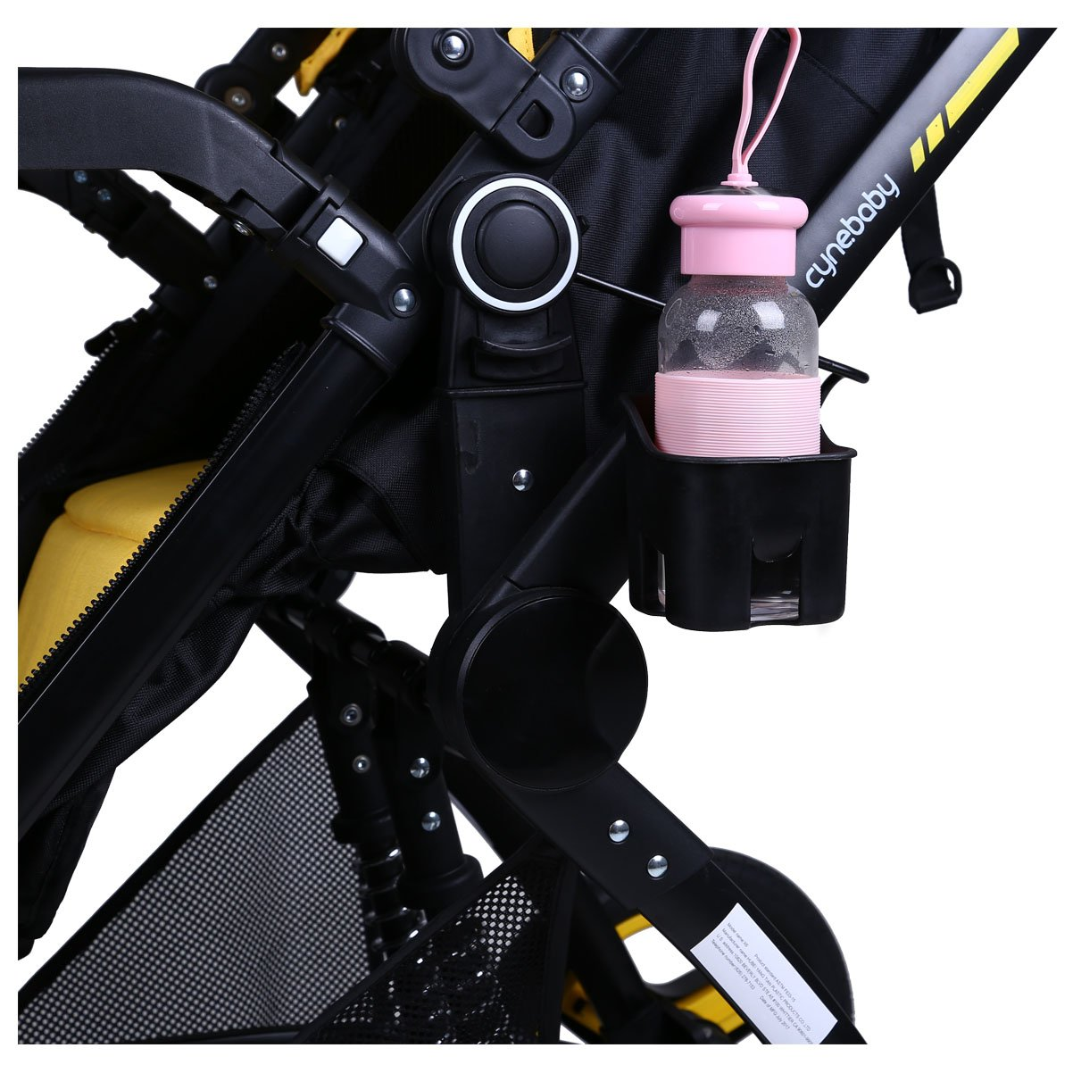 Cup Holder for Cynebaby Stroller X6 by HAIXIAO (Image #3)
