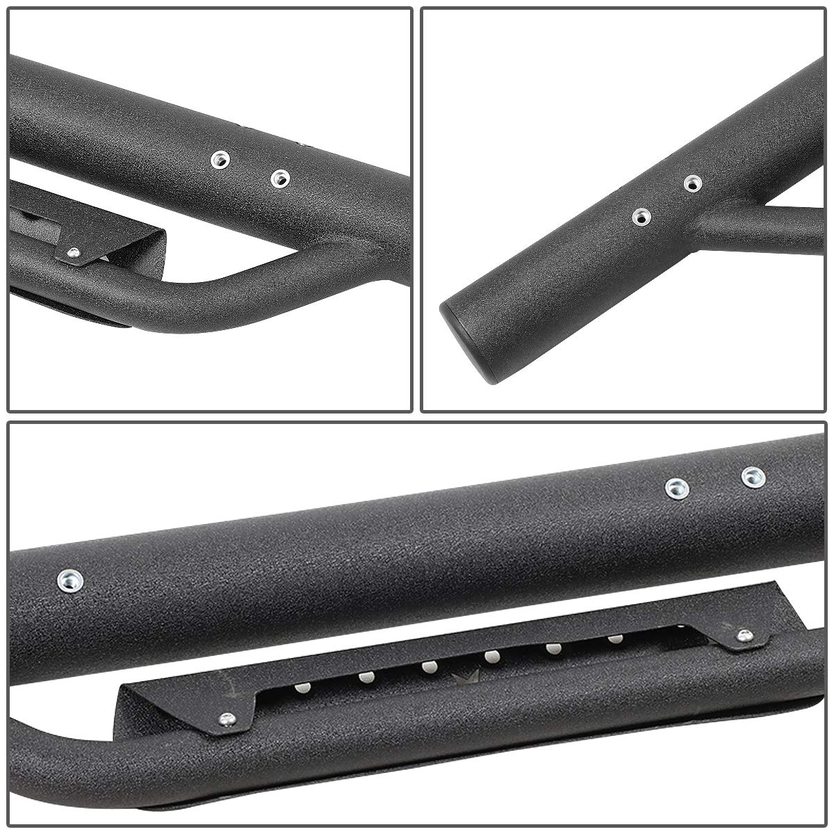 Powered Coated Running Board Side Arm Step Bar for Chevy Silverado GMC Sierra Crew Cab 07-18