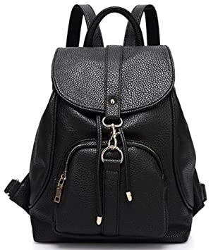 Amazon.com: TUODAWEN(TM) Synthetic Leather Backpack Pretty ...