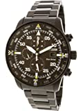 Citizen Men's Eco-Drive CA0695-84E Black Stainless-Steel Fashion Watch