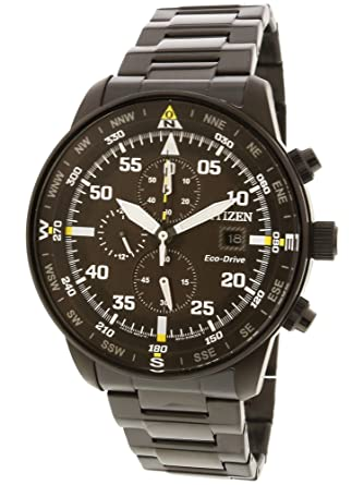 Citizen Collection Aviator CA0695-84E - Reloj de pulsera para hombre: Amazon.es: Relojes