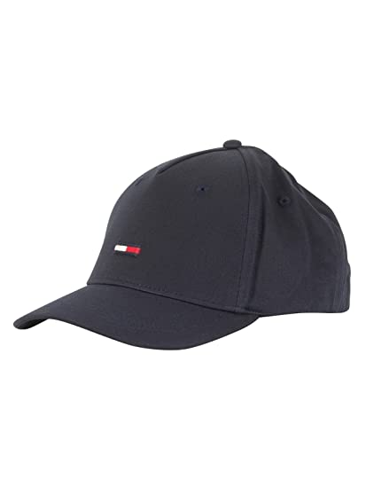 d6d86188 Tommy Jeans Men's Flag Cap, Blue, One Size: Amazon.co.uk: Clothing