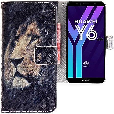 coque huawei y6 2018 lion