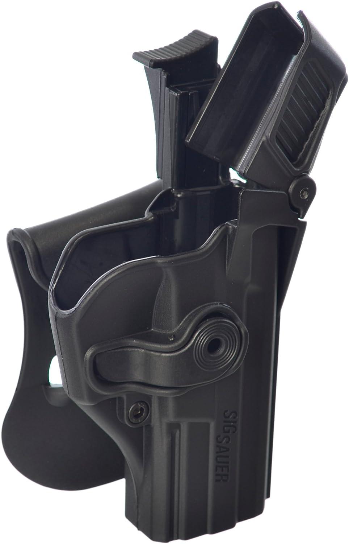 1390 - Funda de pistola para Sig Sauer, nivel 3, color negro