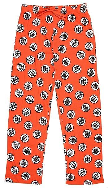 Dragon Ball Z Kame Symbol Print Guys Pajama Pants (X-Large)  Amazon ... 781fb3fc5