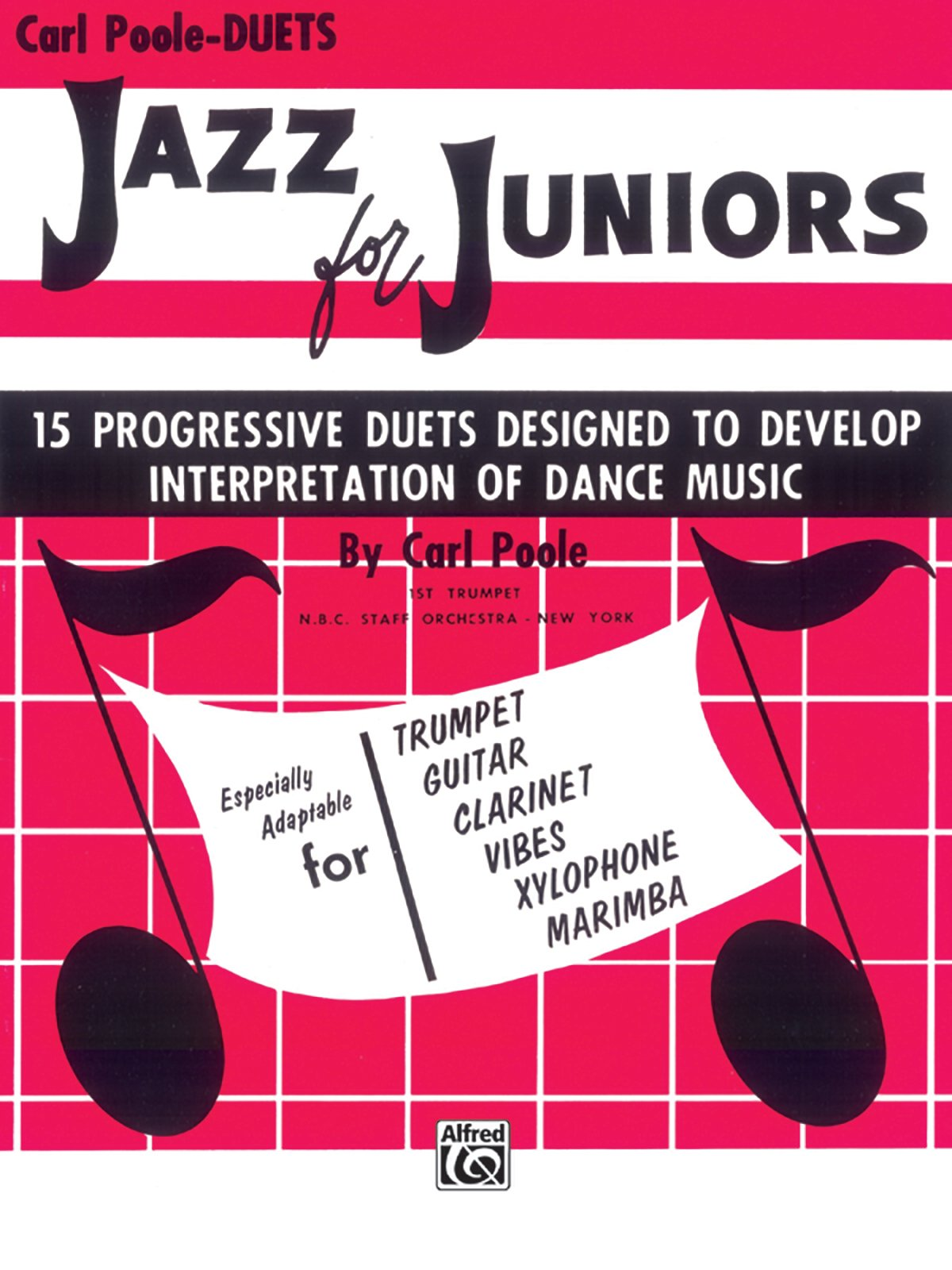 Jazz for Juniors: Duets 15 Progressive Duets Desigined To Develop Interpretation Of Dance Music