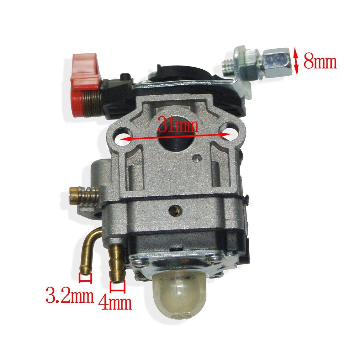 JRL Carby Carburetor Fit 24cc 25cc 26cc 1E34F Engine Motor Part Trimmer Bushcutter Huang Machinery