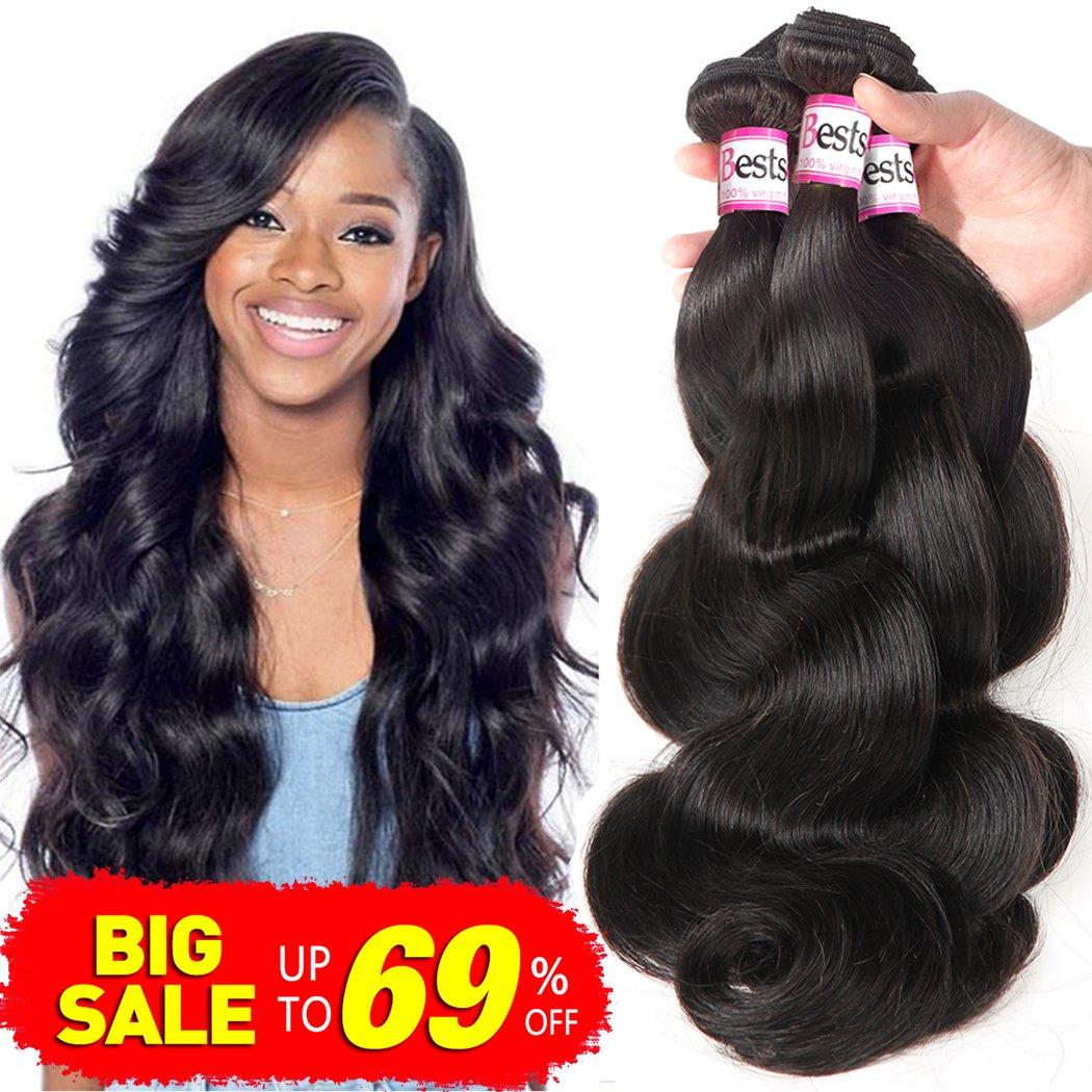 Amazon Hanne 6pcs Brazilian Virgin Hair Body Wave 8 Short