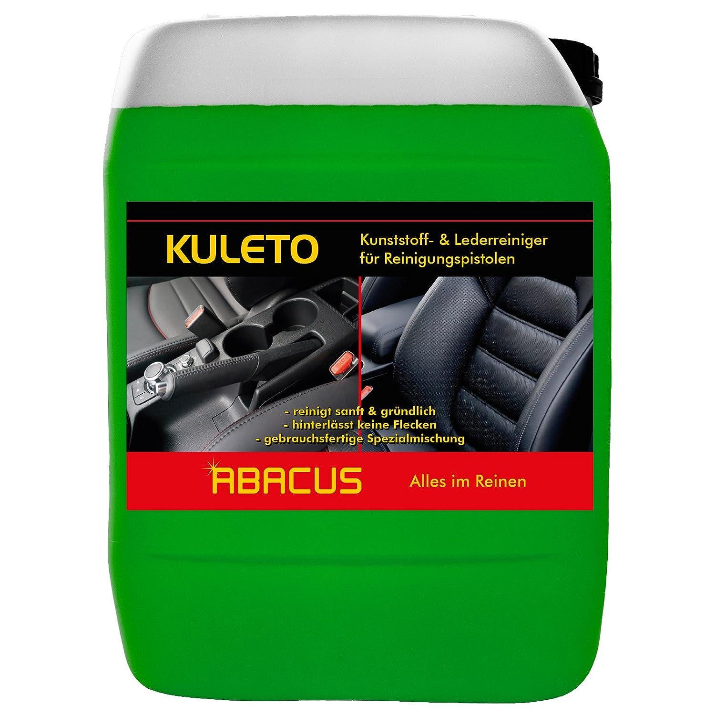Abacus Kuleto, limpiador de 5 litros para plá stico, cuero y goma. Listo para usar (1185.5)