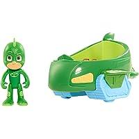 Simba 109402085 109402085-PJ Masks Gecko mit Geckomobil, bunt