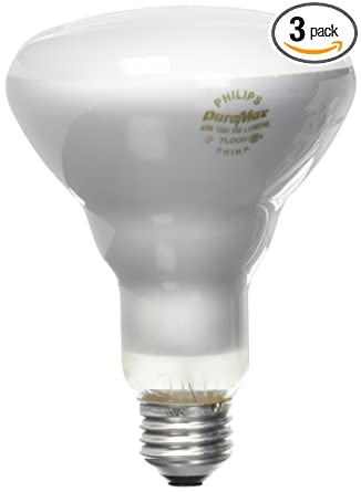 Philips 223032 Duramax 45-Watt Incandescent BR30 Flood Light Bulb 3-Pack - - Amazon.com