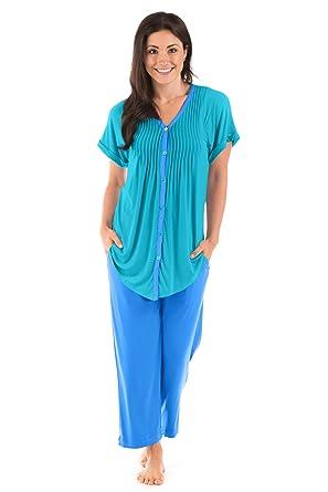 Texere Women s Pajama Set Sleepwear - Luxury Nightwear for Her ... 403e065a4