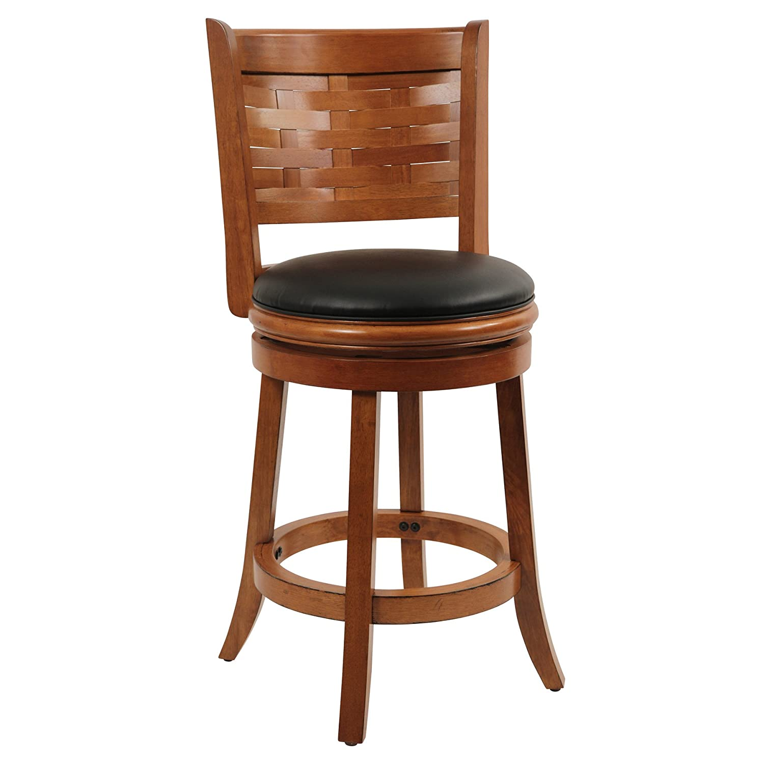Amazon.com Boraam 41024 Sumatra Swivel Stool 24-Inch Distressed Oak Kitchen u0026 Dining  sc 1 st  Amazon.com & Amazon.com: Boraam 41024 Sumatra Swivel Stool 24-Inch Distressed ... islam-shia.org