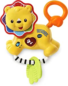 VTech Roar and Explore Lion Teether, Yellow