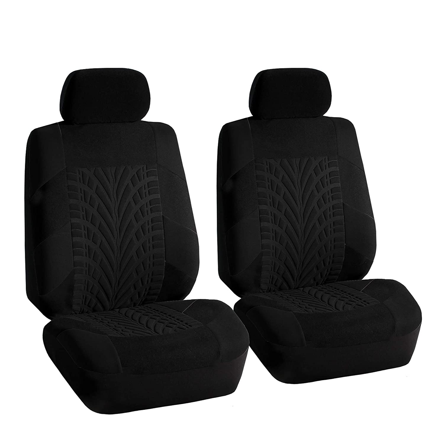 Travel Master Airbag and Split Bench Compatible Black FH Group FB071BLACK115 Car Seat Cover