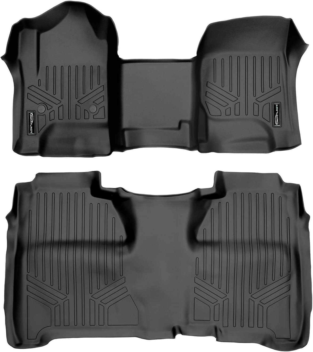 Nylon Carpet CFMBX1CH7737 Black Coverking Custom Fit Front and Rear Floor Mats for Select Chevrolet Bel Air Models